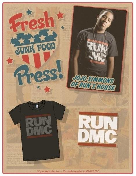 Звездные футболки Junk Food. Изображение № 6.