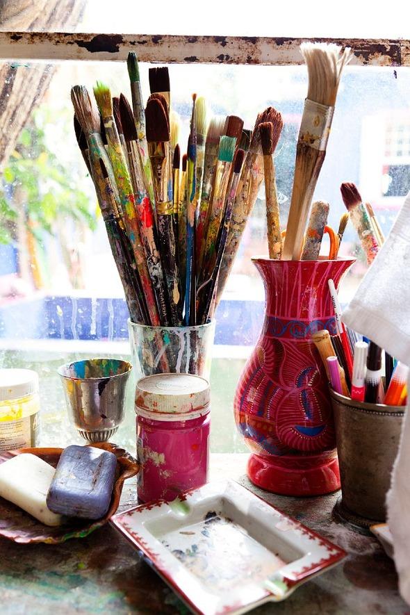 Дом и студия художницы Isabelle Tuchband в Сан Пауло.. Изображение № 9.