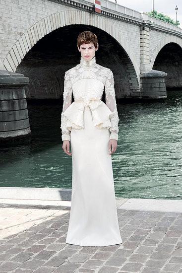 Изображение 12. Показана новая кутюрная коллекция Givenchy.. Изображение № 5.