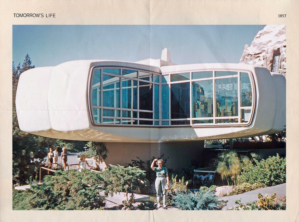 Как представляли дом будущего в 1957-м. Изображение № 2.