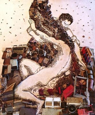 Вик Мунис-бразильский художник, фотограф и представитель лэнд-арта. Изображение № 4.
