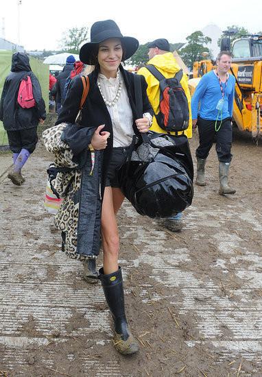 Изображение 3. Уличный стиль на фестивале Glastonbury.. Изображение № 3.