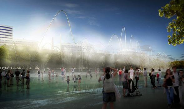 Барселона получит новые «зеленые легкие». Изображение № 5.