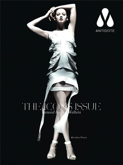 Супермодели на обложке Antidote Magazine. Изображение № 5.