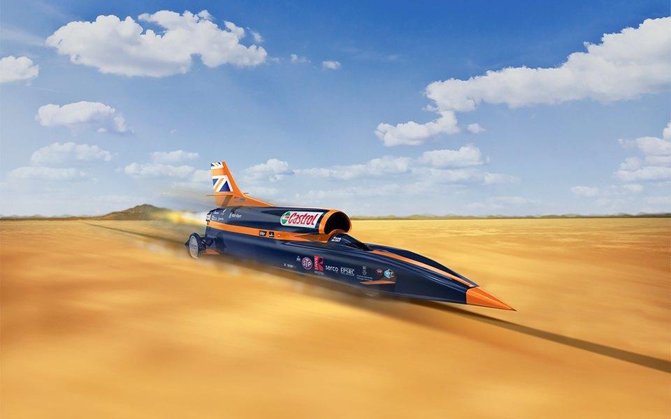 Как выглядит самый быстрый автомобиль  в мире. Изображение № 1.