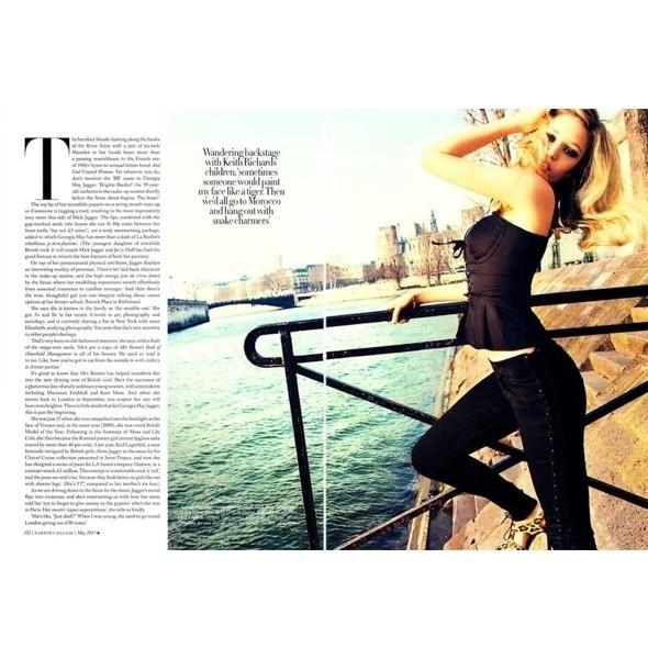 Изображение 2. Съемки: Harper's Bazaar, Marie Claire, Vogue и W.. Изображение № 4.