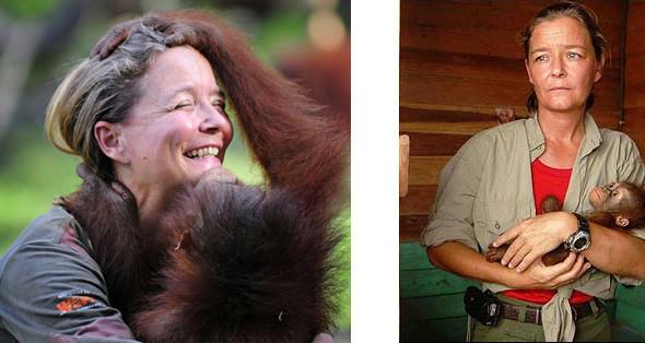 Лоун Дрошер-Нилсен и её обезьянки. Изображение № 1.