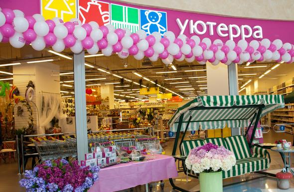 Открытие «Уютерра»: юбилейный, 100-й магазин в ТРЦ «Афимолл Сити».. Изображение № 1.