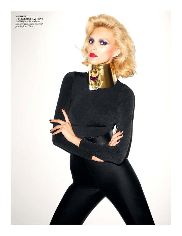 Вышли новые съемки из Bon, Flair, Vogue и других журналов. Изображение № 54.