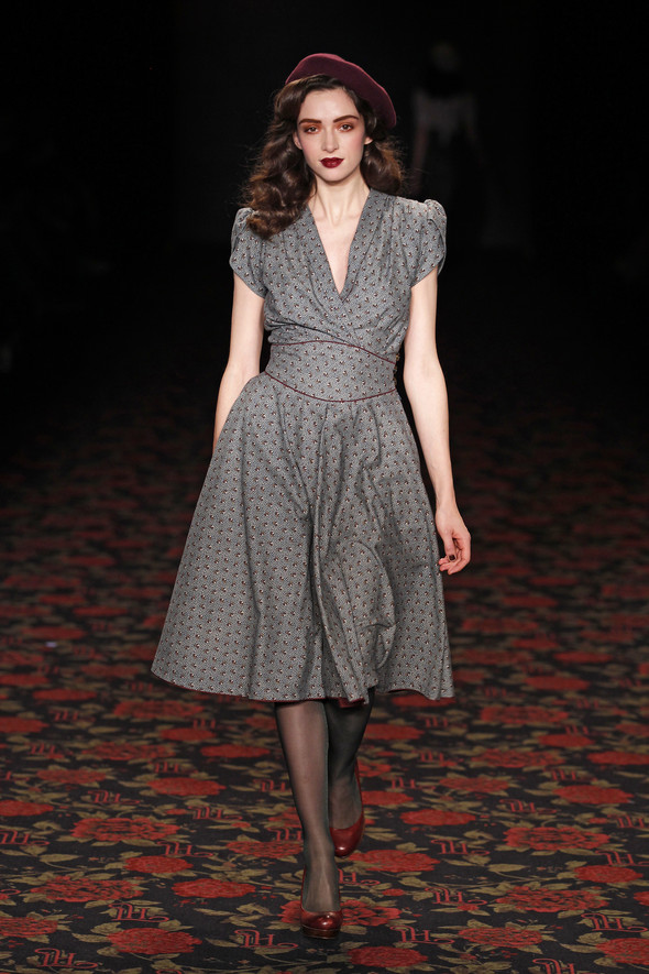 Berlin Fashion Week A/W 2012: Lena Hoschek. Изображение № 19.