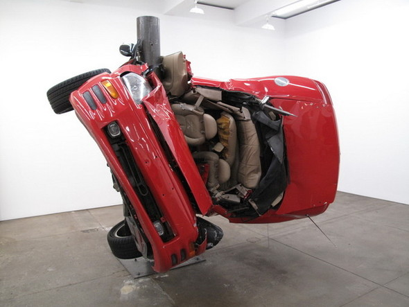 Скульптуры из разбитых машин Dirk Skreber. Изображение № 1.