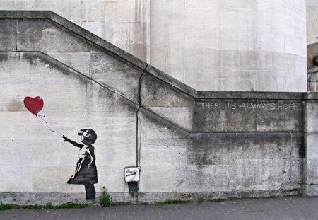 Изображение 1. Арт-терроризм Banksy.. Изображение №1.