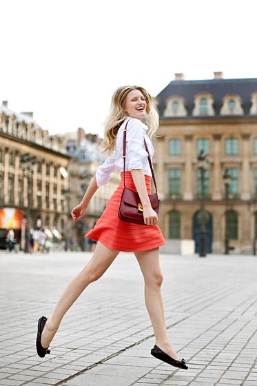 Уличный стиль на Неделе высокой моды в Париже. Изображение № 55.