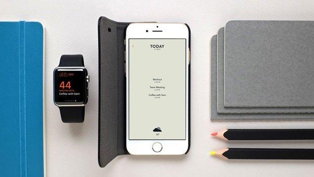 Moleskine выпустил календарь для iPhone и Watch. Изображение № 1.