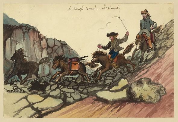 Исландия в середине XIX века: путевые рисунки американского дипломата. Изображение № 3.