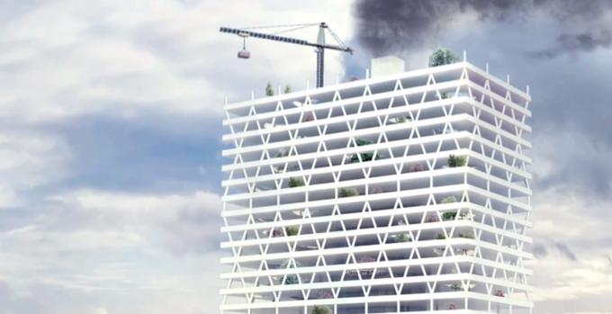 Архитектор предложил строить в городах кладбища-небоскрёбы. Изображение № 3.