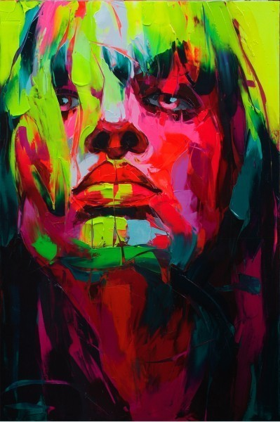 Красочные портреты Франсуазы Нилли. Изображение № 17.