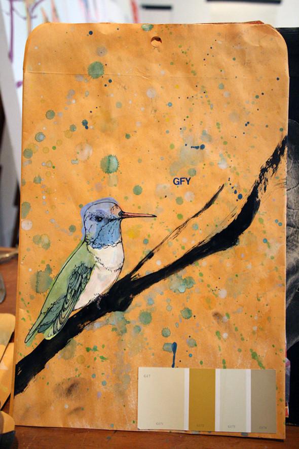 Изображение 7. Рисунки на конвертах Sage Vaughn.. Изображение № 7.