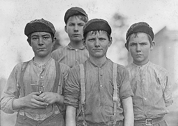Эксплуатации детского труда в Америке (1910 год).И эмигранты США. Изображение № 33.