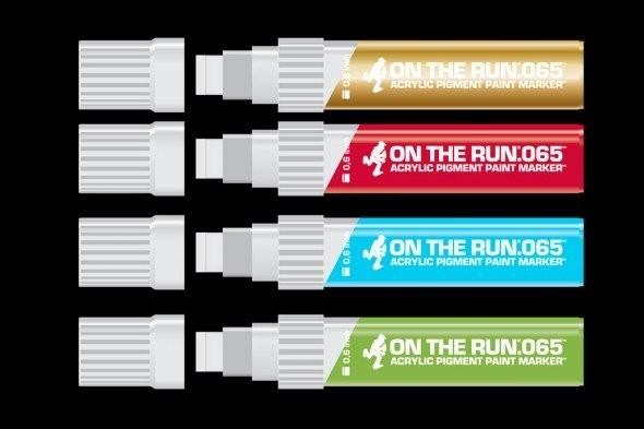 Краска MTN, маркеры MTN, маркеры OTR. Изображение № 5.