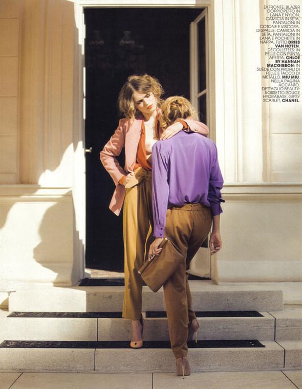 Журнал: Marie Claire Italia, октябрь 2009. Изображение № 3.