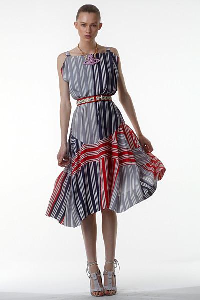 Лукбук: Vivienne Westwood Anglomania SS 2012. Изображение № 26.