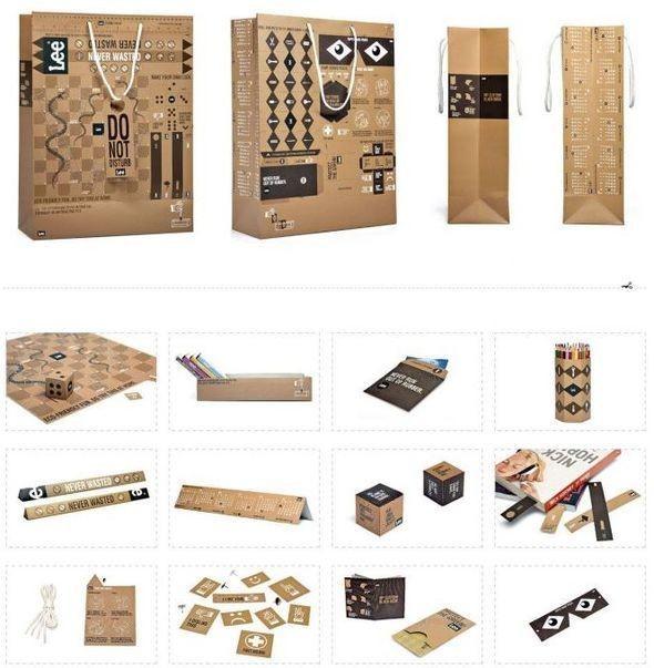 Изображение 10. Креативная упаковка в fashion-индустрии.. Изображение № 8.