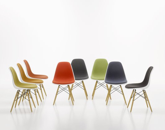 Plastic Side Chairs, 1950 . Изображение № 3.