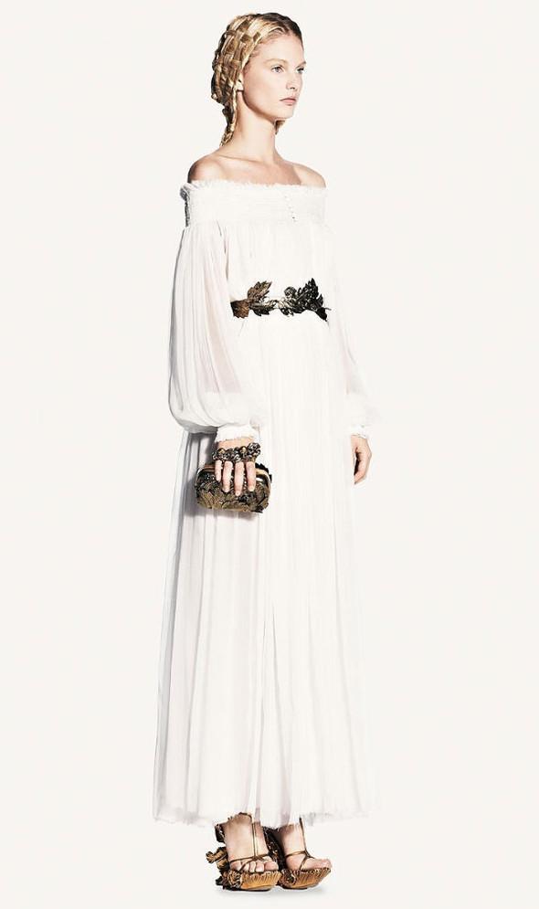 Look-book Alexander McQueen весна 2011. Изображение № 33.