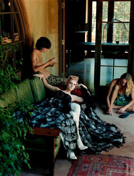 Vogue Italia September 2003. Изображение № 11.