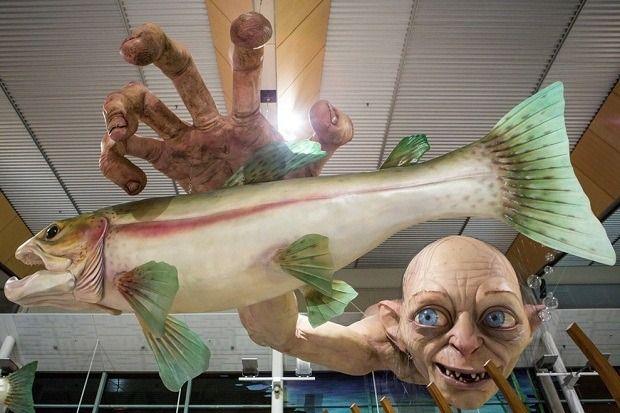 Огромная статуя Голлума из «Властелина Колец». Изображение № 1.