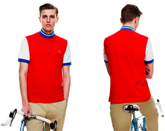 Fred Perry X Cycling Blank Canvas. Изображение № 7.