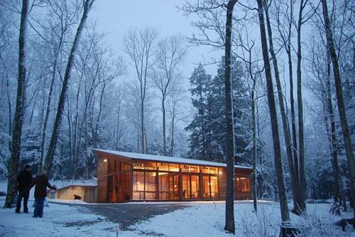 10 домов из зимней сказки. Изображение № 10.