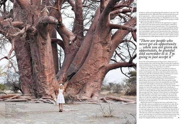 Съёмка: Изабель Лукас для австралийского Vogue. Изображение № 11.