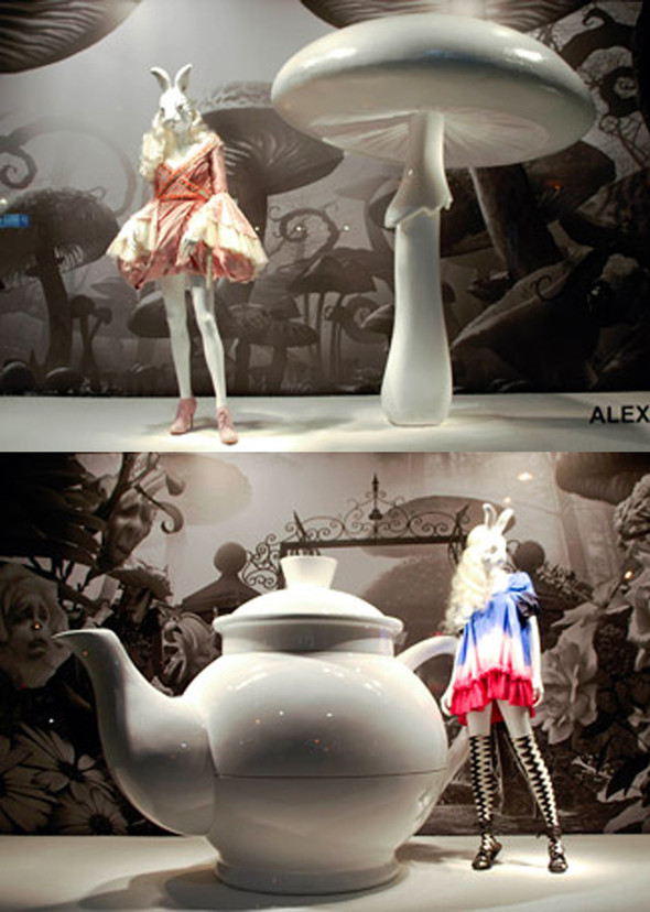 Alice In Wonderland In Fashion Retail 2010. Изображение № 20.