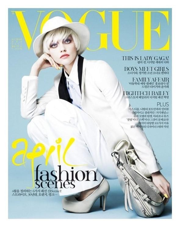 Изображение 4. Обложки Vogue: Бразилия, Корея, Россия и Япония.. Изображение № 2.