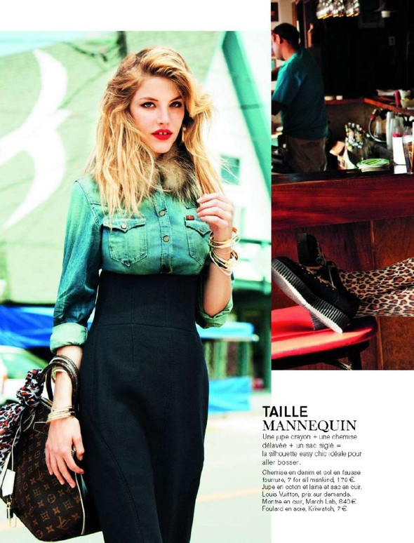 Съемка: Ashley Smith 4 Glamour France November 2011. Изображение № 6.