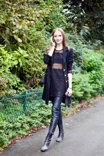 Нерабочее время: Блоги об уличном стиле моделей. Изображение № 10.