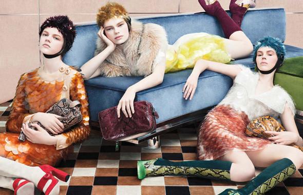 Изображение 23. Кампания: Prada FW 2011.. Изображение № 23.