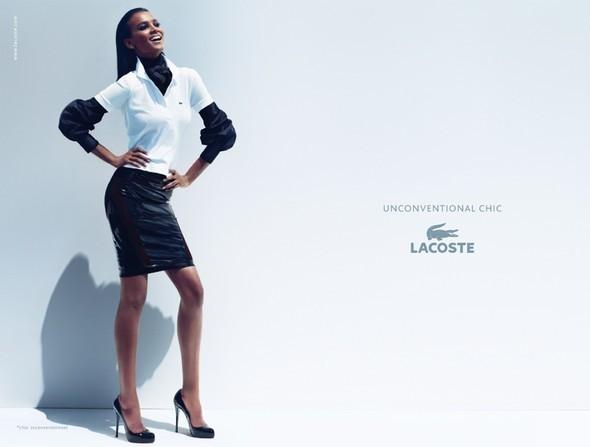 Изображение 4. Рекламные кампании: Lacoste, S by Max Mara, YSL и другие.. Изображение № 4.