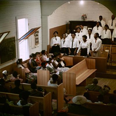 Белый против черного: Расовая сегрегация в Америке 50-х. Изображение № 7.
