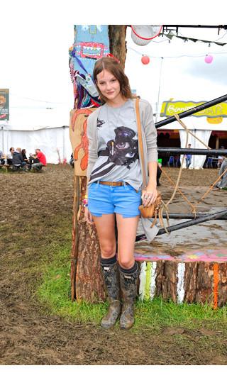 Изображение 13. Уличный стиль на фестивале Glastonbury.. Изображение № 13.