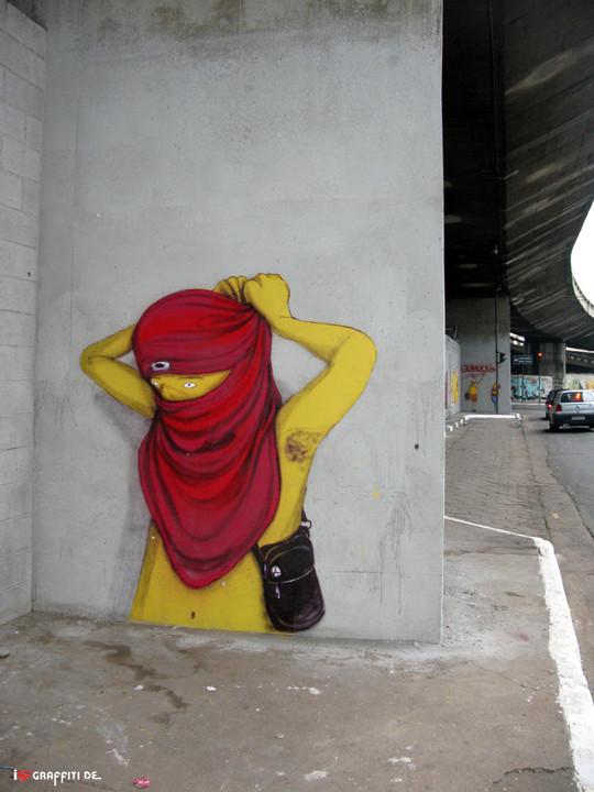 Граффити художники Os Gmeos о творческом пути. Изображение № 11.