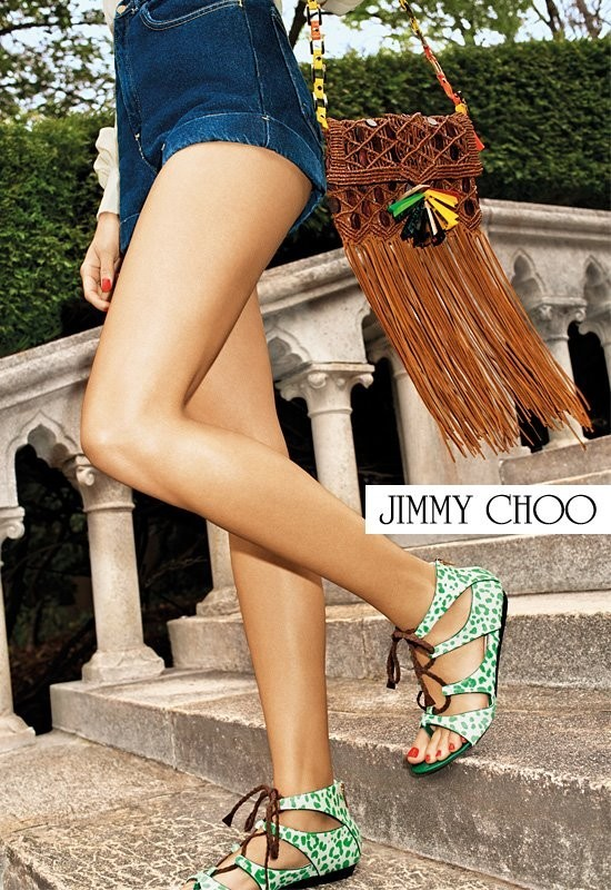 Кампания: Терри Ричардсон для Jimmy Choo SS 2012. Изображение № 8.