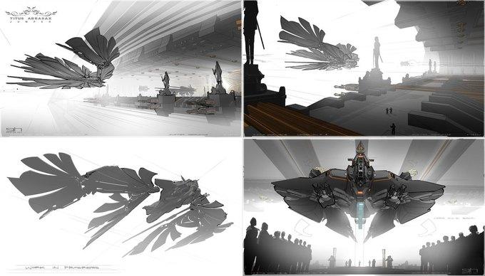 Художник «Восхождения Юпитер» выложил концепты к фильму. Изображение № 27.