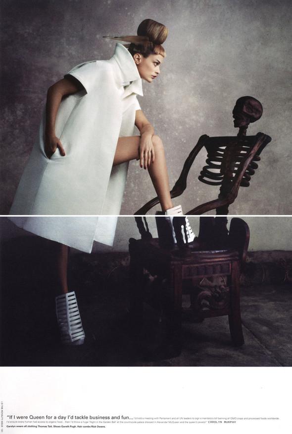 Съёмки: Elle, i-D и Vogue. Изображение № 12.