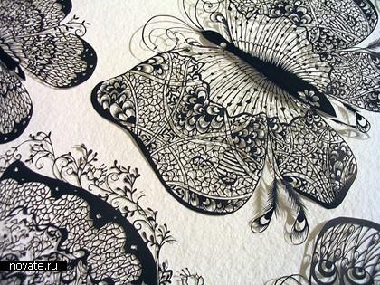 Необыкновенные кружева изобычной бумаги. Hina Aoyama. Изображение № 3.