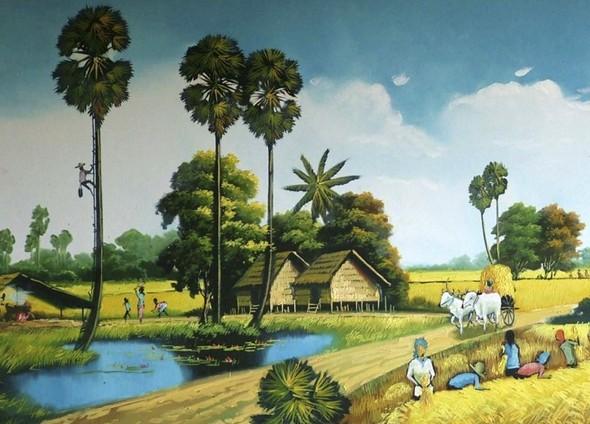 Кхмерский художник Vann Nath. Изображение № 2.