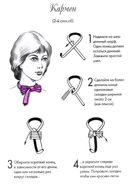 Завязать шарф???. Изображение № 3.