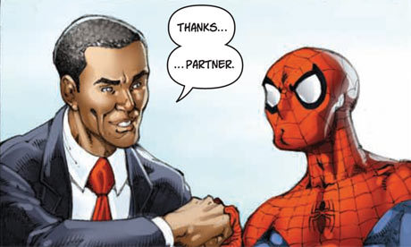 MARVELlous Obama. Изображение № 2.